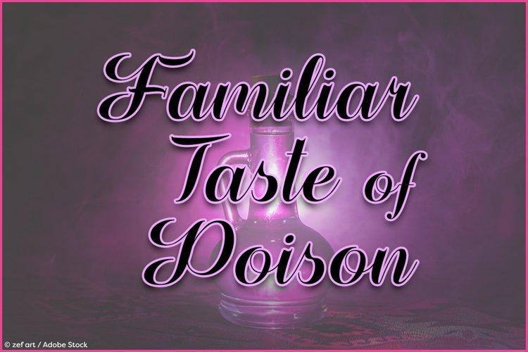 Familiar Taste of Poison example image 1