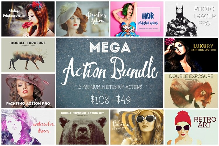 Mega Action Bundle - 75 OFF