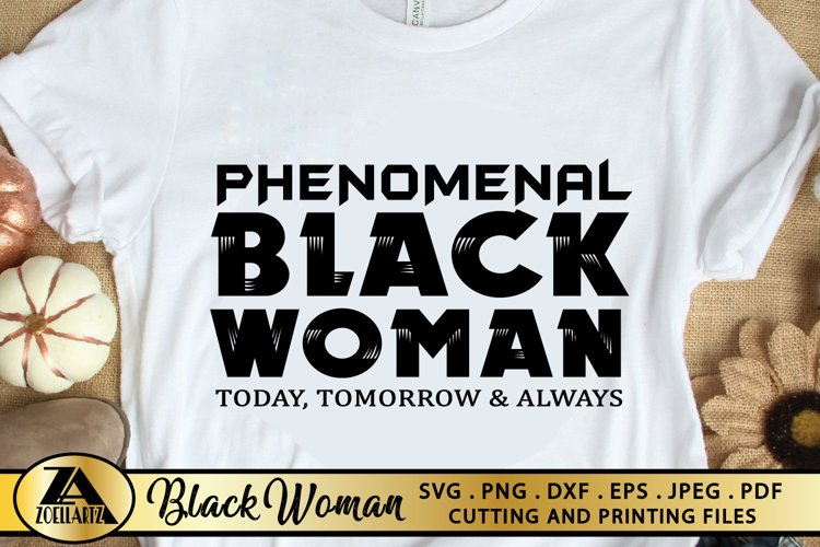 Black Woman SVG PNG EPS DXF Black Girl SVG Afro Queen SVG example image 1