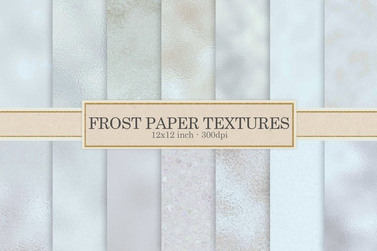 Frozen digital paper, frost example image 1