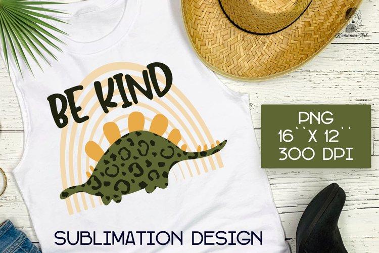 Be kind sublimation design for T-shirts, Kindness PNG