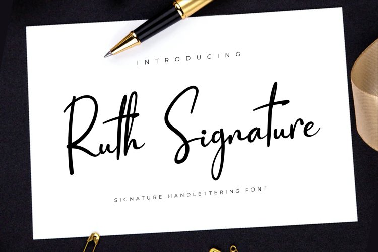 Ruth Signature example image 1