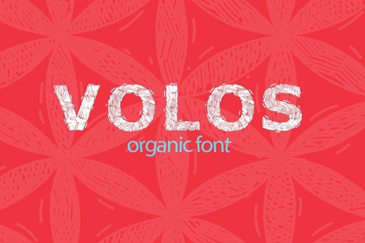 Web Font Organic Poster Font example image 1