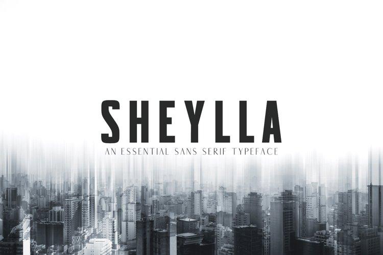Sheylla Sans Serif Typeface example image 1