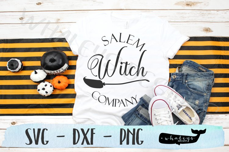 Salem Witch Company, Halloween SVG example image 1