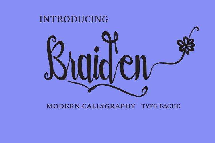 Braiden example image 1