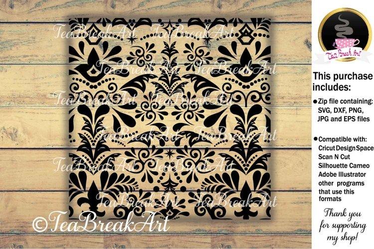 Digital Comercial Use Zentangle pattern Design 906