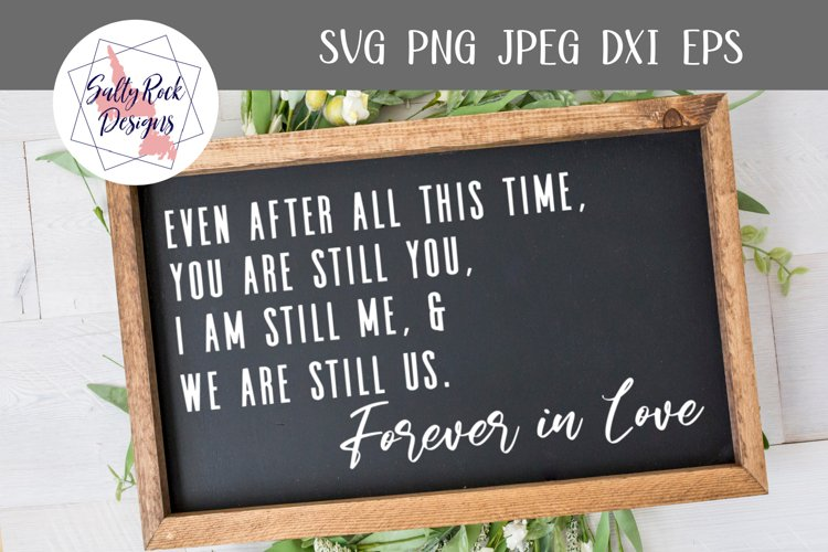 Forever in Love svg, Love svg, Love sign svg