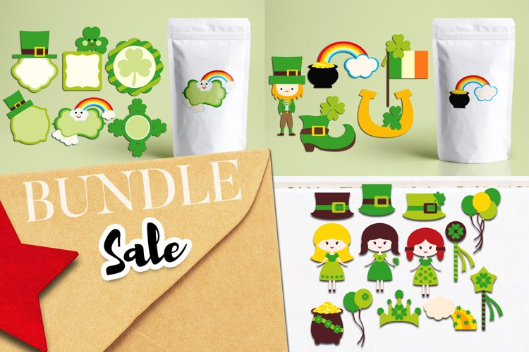 St. Patricks Day Clipart Bundle
