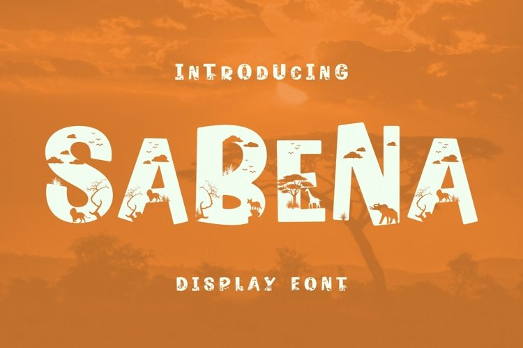 SaBeNa Font example image 1