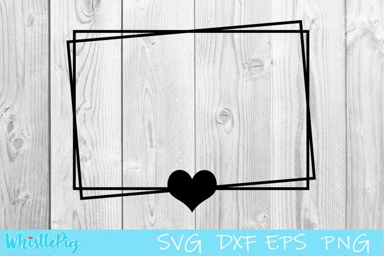 Square Frame Svg Square Border Svg Heart Border Heart Frame