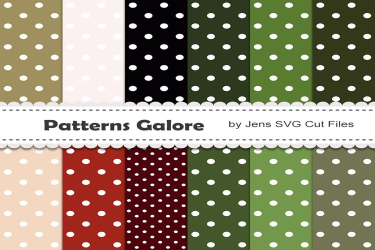 Dots Digital Papers 819