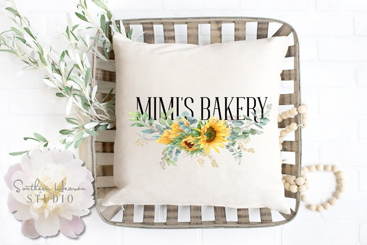 MIMIS BAKERY, Sunflowers - PNG
