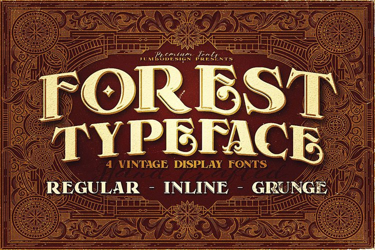 Forest - Display Font example image 1