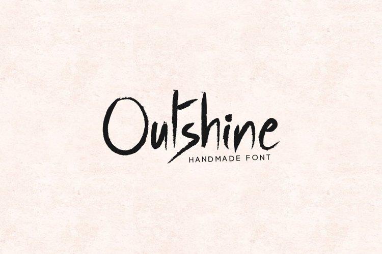 Outshine - Luxury / Handwritten Font