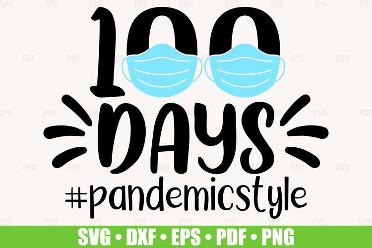 100 Days Of School SVG files for Cricut, 100 Days Online svg example image 1