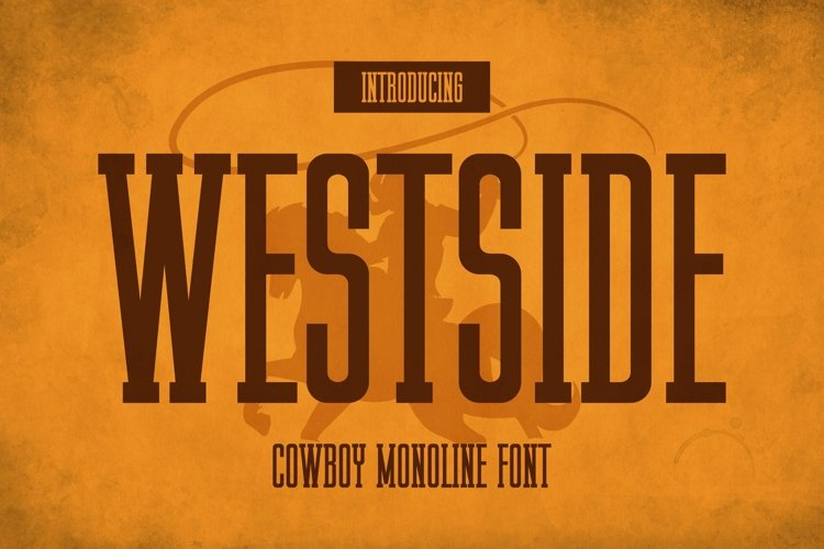 Web Font Westside Font example image 1