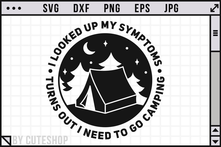 I need to go camping - Funny Camping SVG | Camper SVG