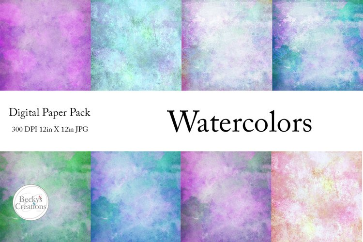 Watercolor Paper Pack example image 1