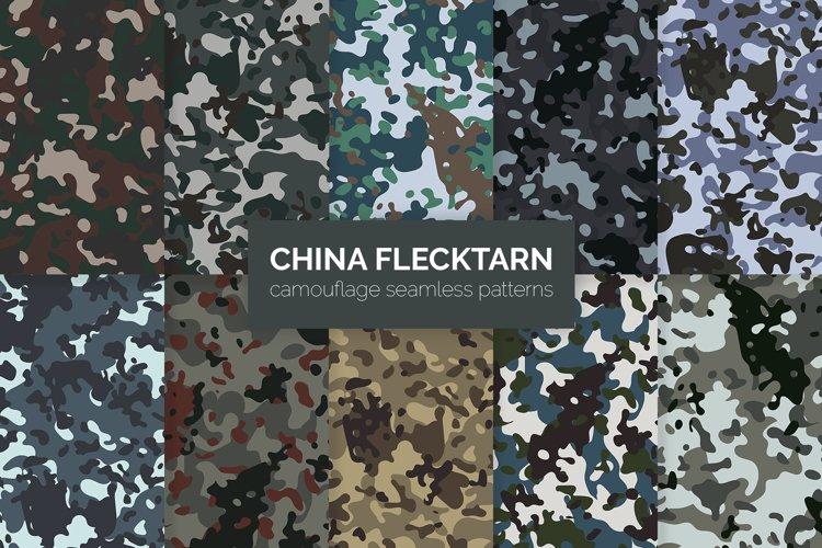 China Flecktarn Camouflage Patterns example image 1
