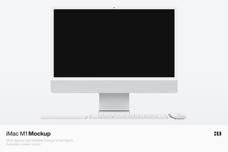 Apple iMac 24 M1 Mockup