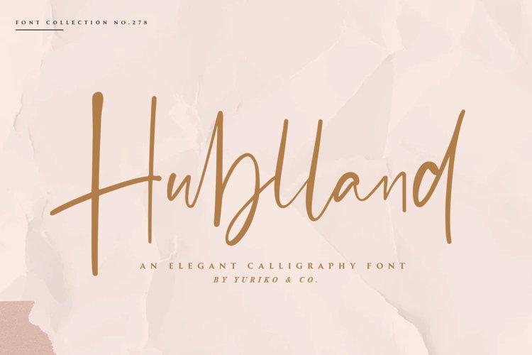 Hublland - Modern Script example image 1