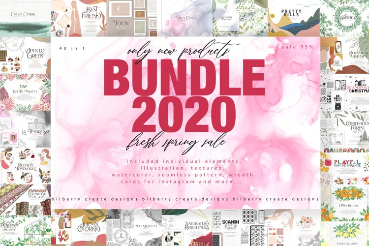 BUNDLE 2020 new 40 in 1 products