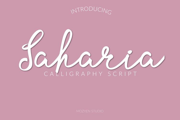 Saharia example image 1