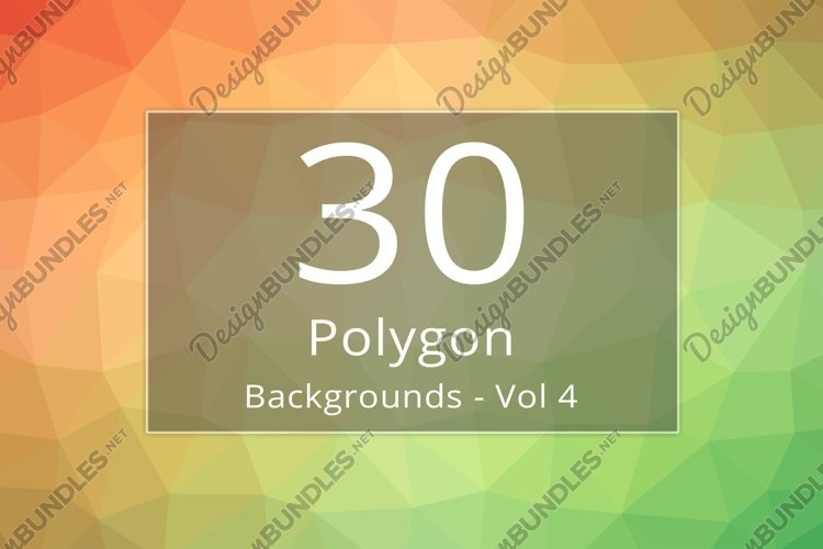 30 Polygon Backgrounds - Vol 4 example image 1