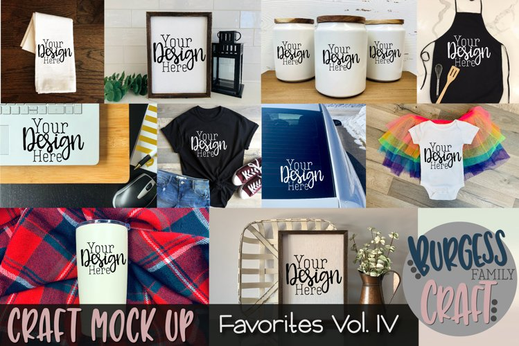 Favorites Vol. IV | Craft mock up Bundle