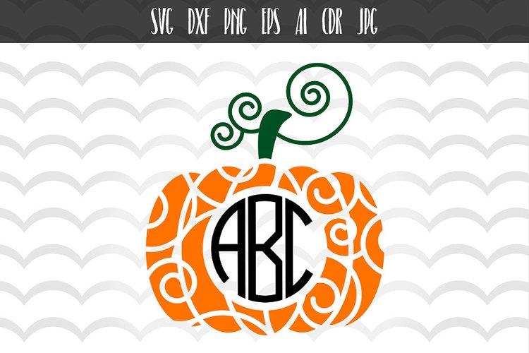Pumpkin Halloween SVG example image 1