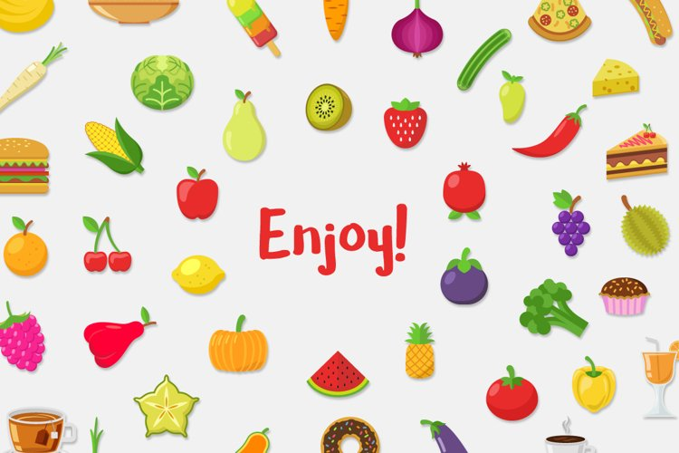 Food Vector Set - Free Design of The Week Design3