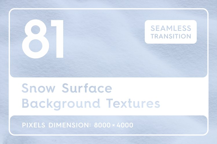 81 Snow Surface Background Textures example image 1