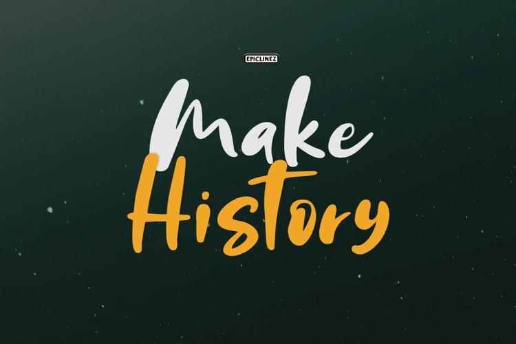 Make History example image 1