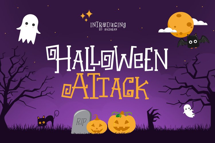 Halloween Attack example image 1