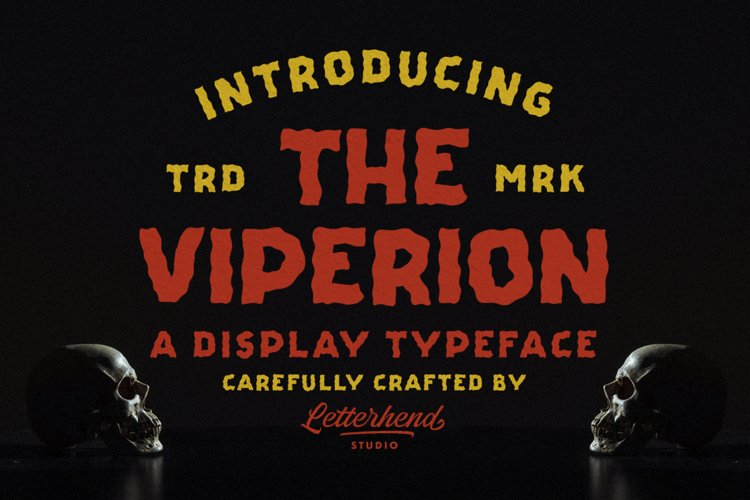 The Viperion - Display Typeface example image 1