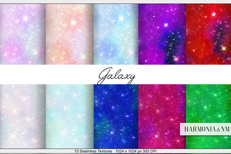 Galaxy 10 Textures Harmonia NM example image 1
