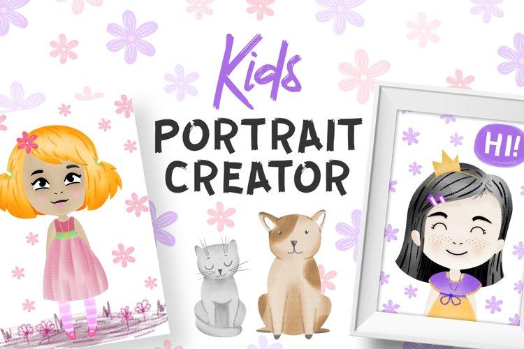 Kids Character Creator