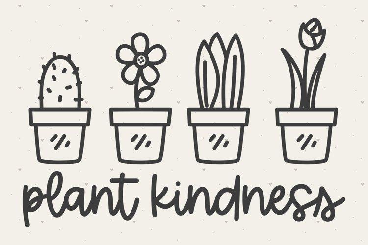 Plant Kindness SVG FILE
