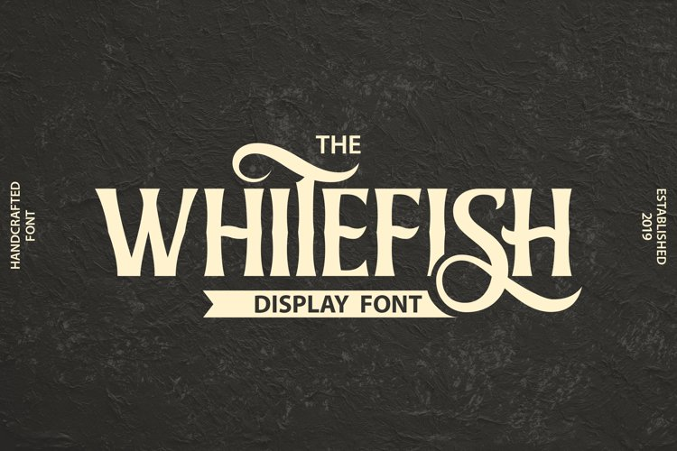 Whitefish | Display Font example image 1