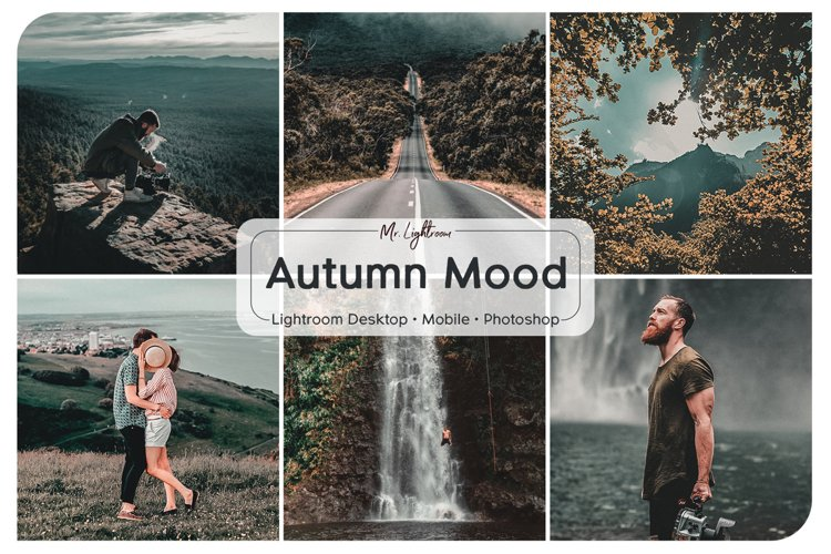 Autumn Mood Lightroom Desktop and Mobile Presets example image 1
