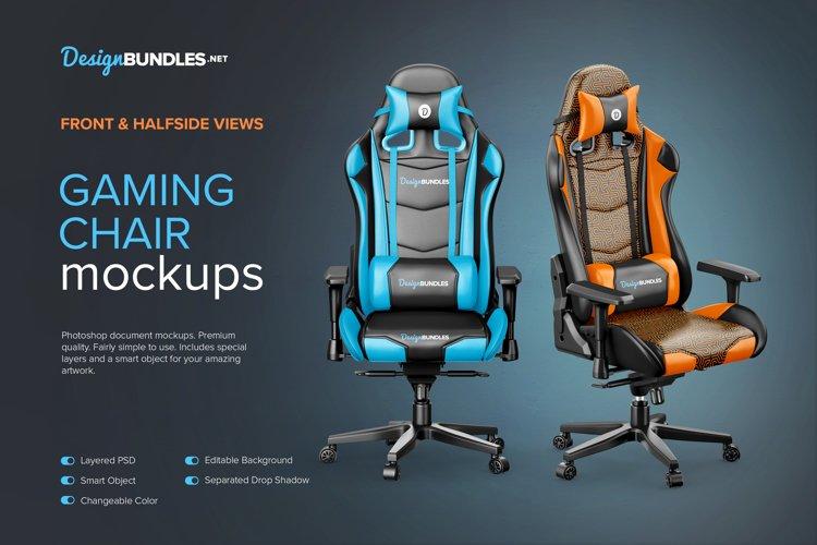 Gaming Chair Mockups example image 1