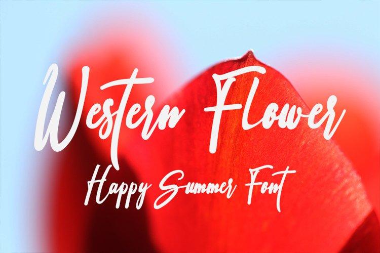 Western Flower example image 1