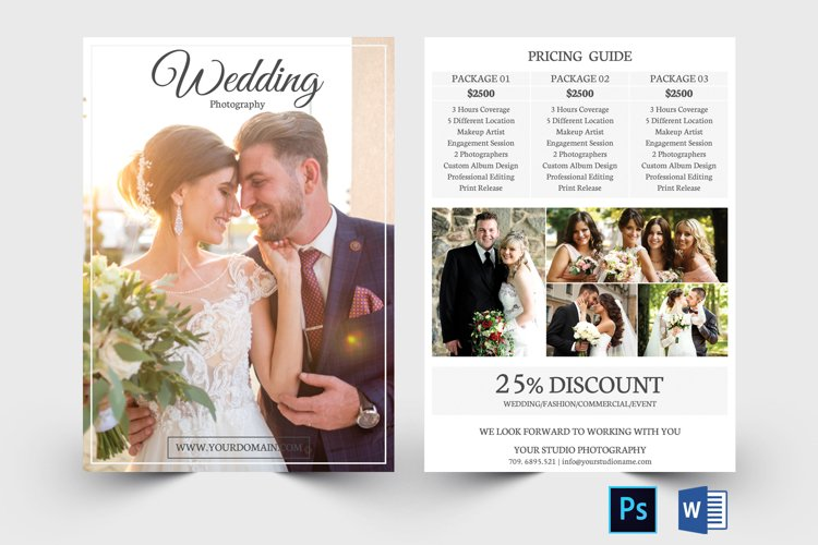 Photography Pricing Guide Template example image 1