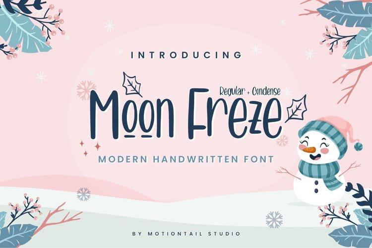 Moon Freze example image 1
