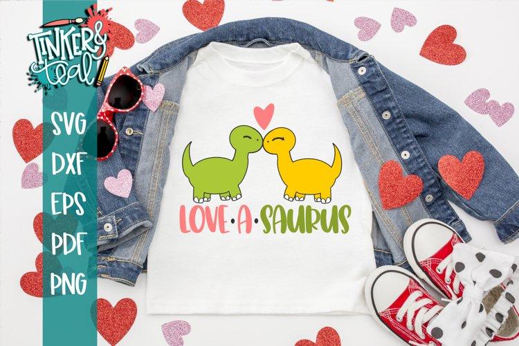 Dinosaur SVG / Valentine SVG / Lovesaurus SVG
