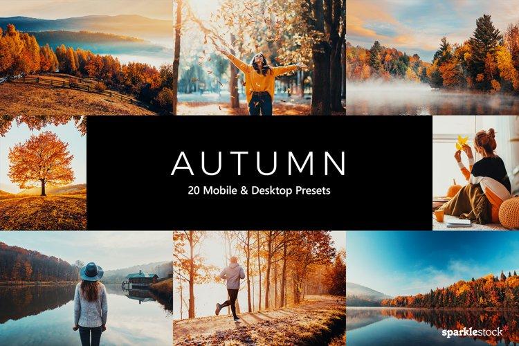 20 Autumn Lightroom Presets & LUTs example image 1