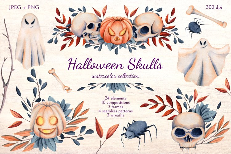 Halloween Skulls example image 1