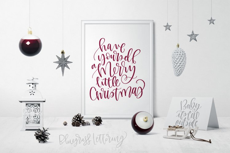 Handlettered Holiday example image 1