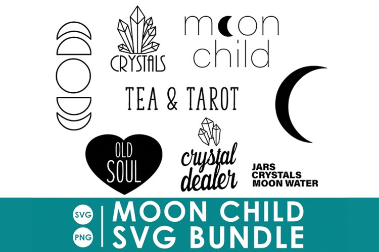 Moon Child SVG Bundle